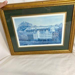Other - Edinburgh Scotland and Castle Framed Print